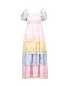 Sukienka LOVESHACKFANCY CAPELLA