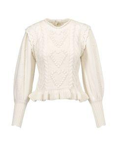 Sweter LOVESHACKFANCY CALANTHA