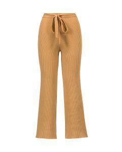 Spodnie LIVE THE PROCESS BELTED RIB PANT