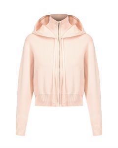 Bluza LIVE THE PROCESS CROP KNIT HOODIE