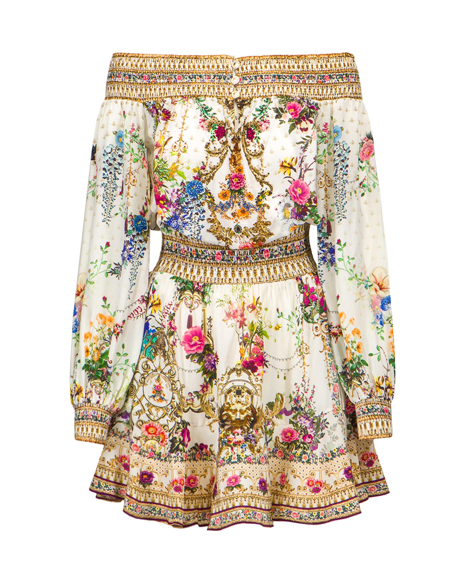 Šaty Camilla OFF SHOULDER SHORT DRESS