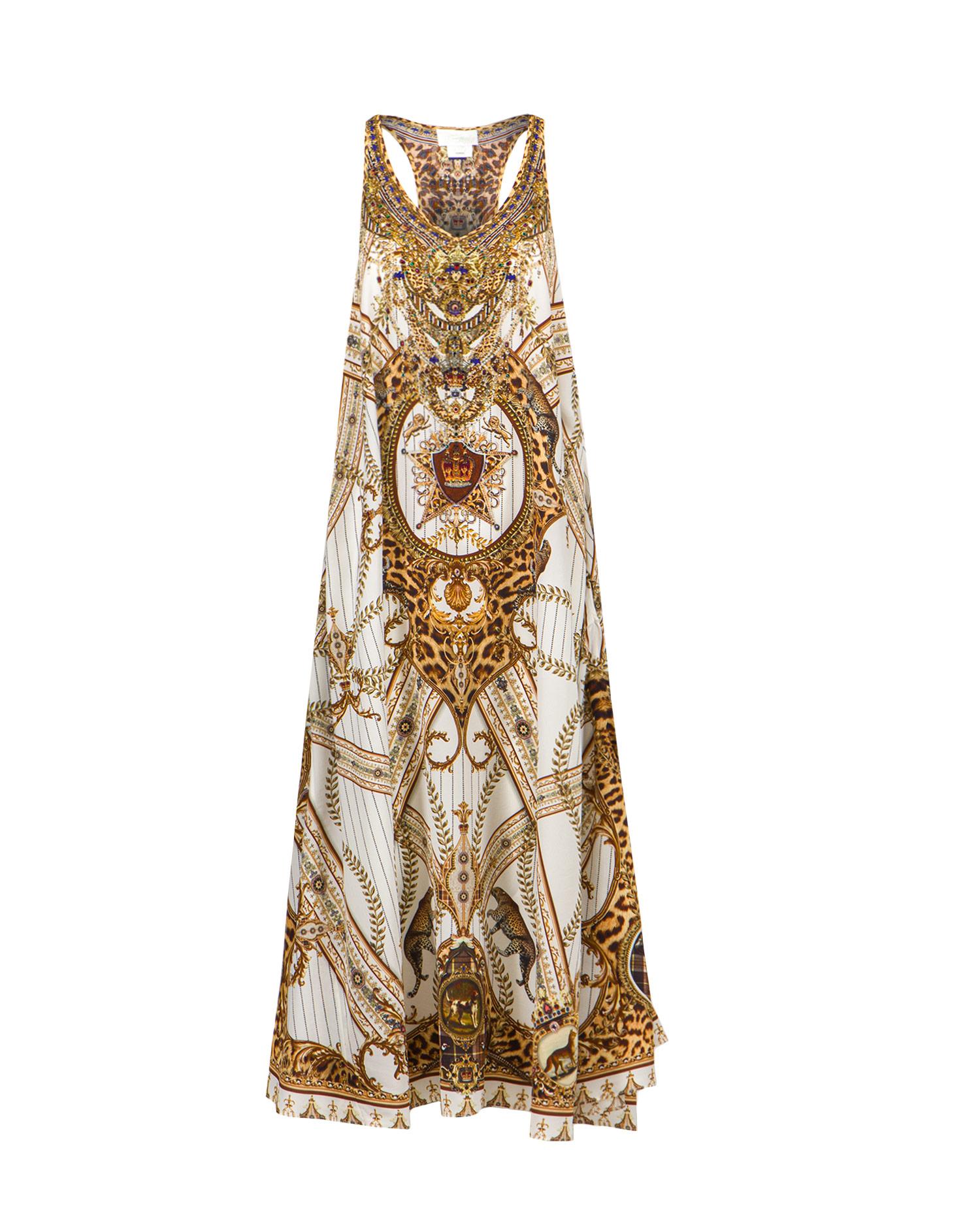 Šaty Camilla V NECK RACERBACK