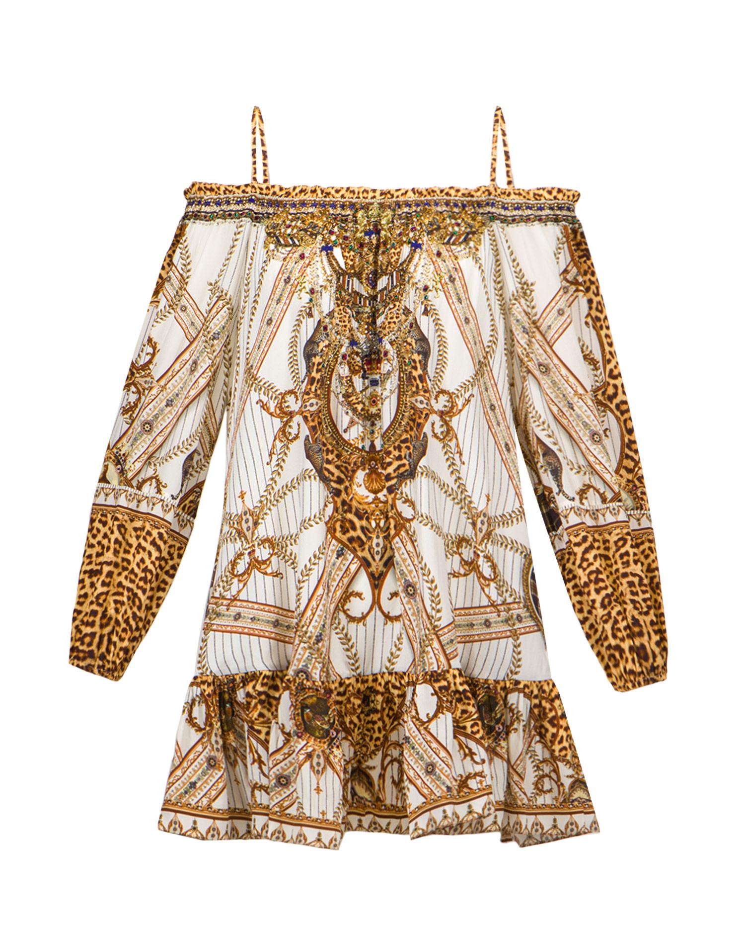 Šaty Camilla OFF SHOULDER DRESS W STRAPS