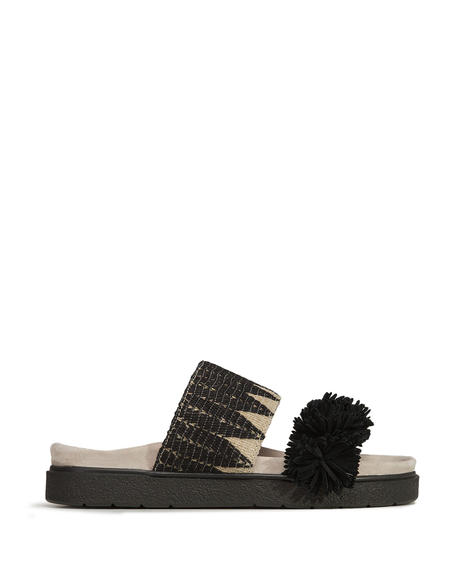Pantofle Inuikii RAFFIA